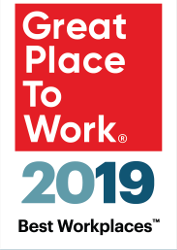 Great Places to Work 2019 Logo