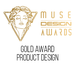 Muse Design Award Gold Logo