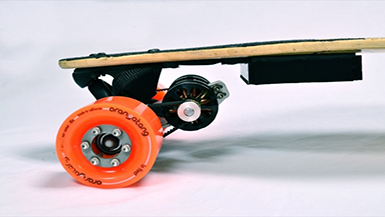 New innovation: The Longboard…boosted!