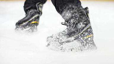 Hockey Transformed! BLADETECH's Spring-Loaded Skates