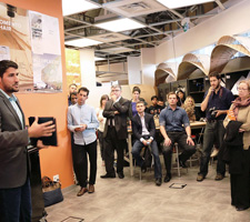 Kevin Mako Keynotes Ryerson's Design Fabrication Zone Launch