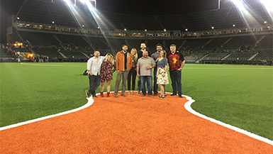The ID Guild Hosts Event at Longhorns vs. Aggies Sold-Out Game