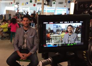 Kevin-Mako-in-front-of-Camera-at-Google
