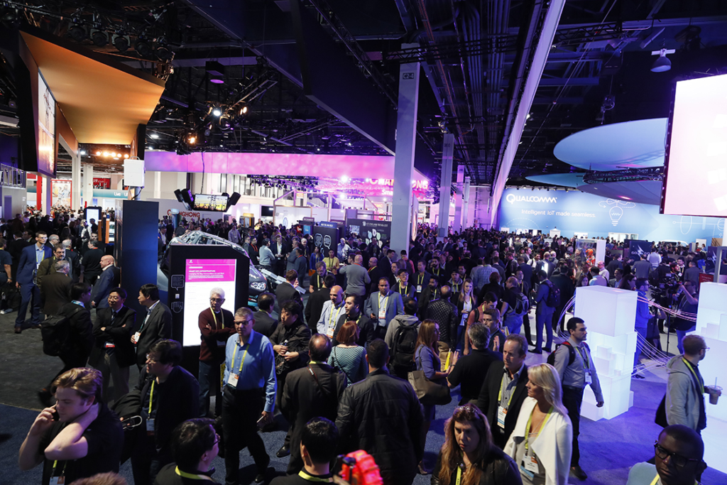 Our product design firm attends CES every year to support our participating clients and meet new ones.