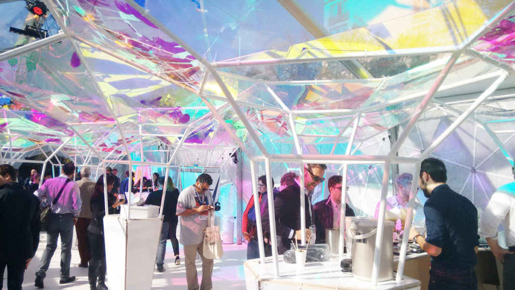 The 3M LifeLabs booth and an industrial design wonder.