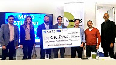 MAKO Awards 10K to Cricket Based Food Company for Innovation