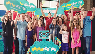 Kevin Mako Announces Dreamvention Finalists with Frito-Lay and Robert Herjevac