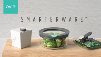 Ovie Creates First Smart Food Storage System