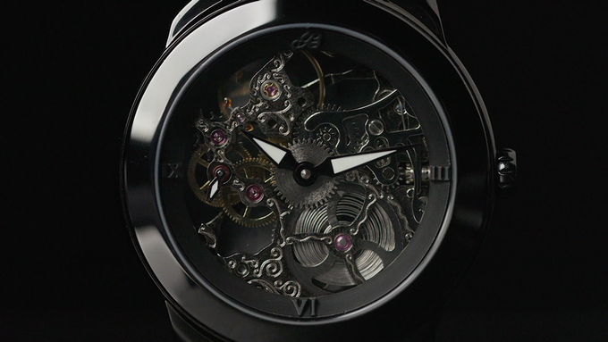 Our mechanical design firm helped create the luxury watch.