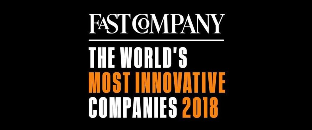 Our invention design company is nominated for the 2019 award.