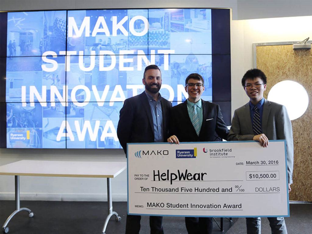 Our invention design company grants $10,500 every year to the winners of the award.