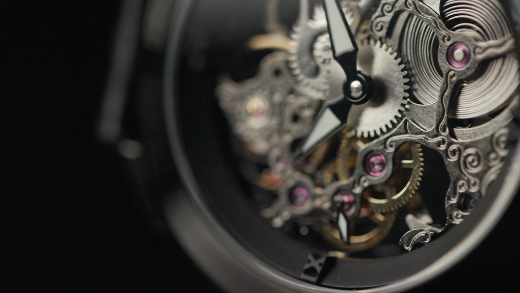 The timepiece our product design studio created.