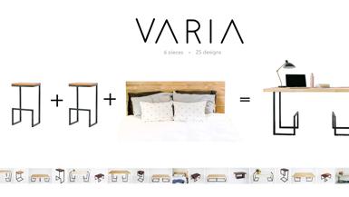 VARIA Creates Multi-Purpose Furniture For Your Home