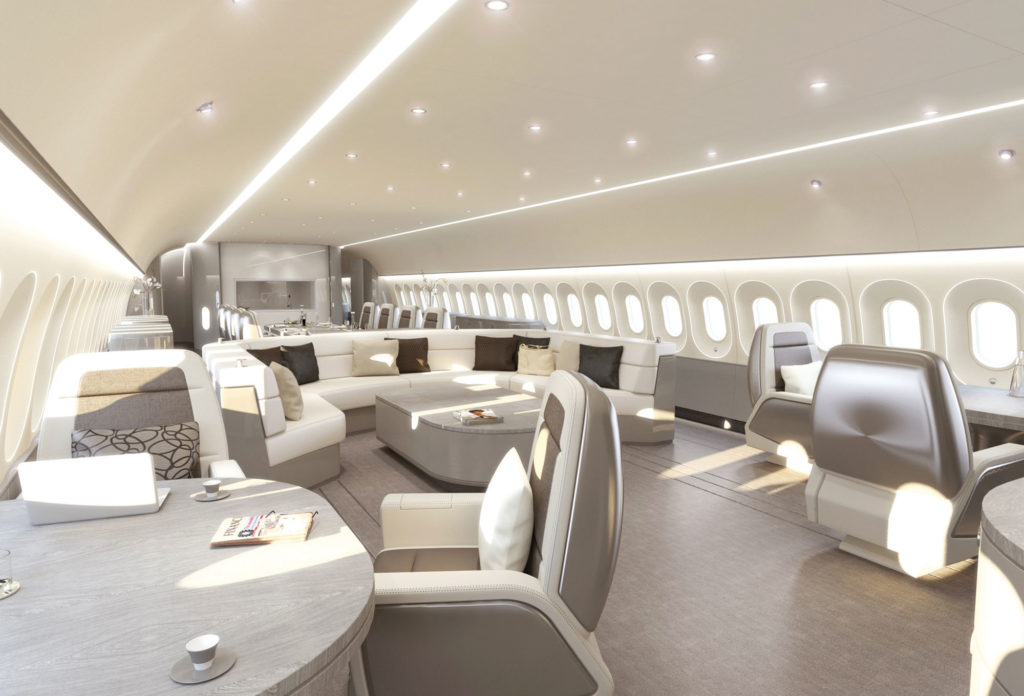 Our top product design firm hired top designer Magnus Skold who previously designed VVIP aircrafts.