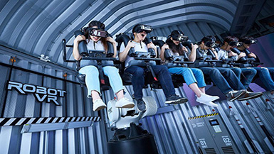 How Innovation is Bringing Virtual Reality Technology to Amusement Parks