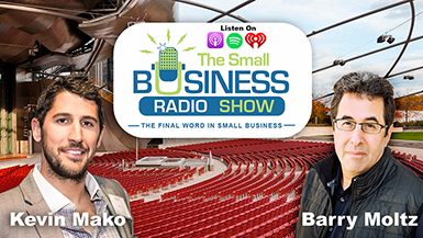 President of Mako Design and Invent Features on The Small Business Radio Show to Talk on Products!
