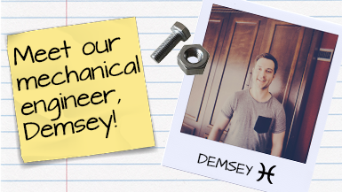 Meet Our Mechanical Engineer – Demsey! #MeetMako