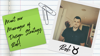 Meet our Manager of Design Strategy – Rob! #MeetMako