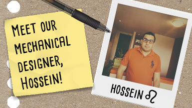 Meet Our Mechanical Designer – Hossein! #MeetMako