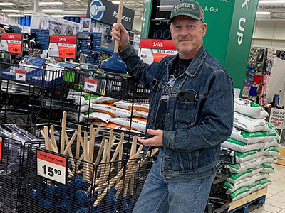 Bathroom Product Inventor Walks Into a Big Box Retailer and Sells His First Batch