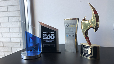 A Closer Look at Mako Design's Latest Trophy Awards!