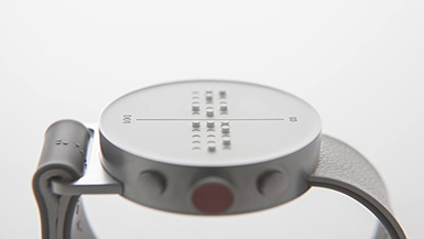 Innovation for Accessibility: The DOT Watch