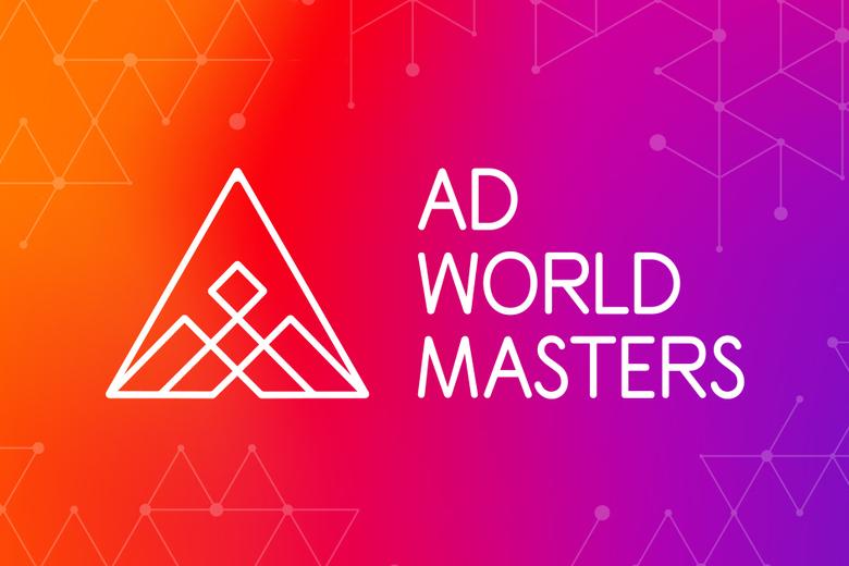 Ad World Masters logo.