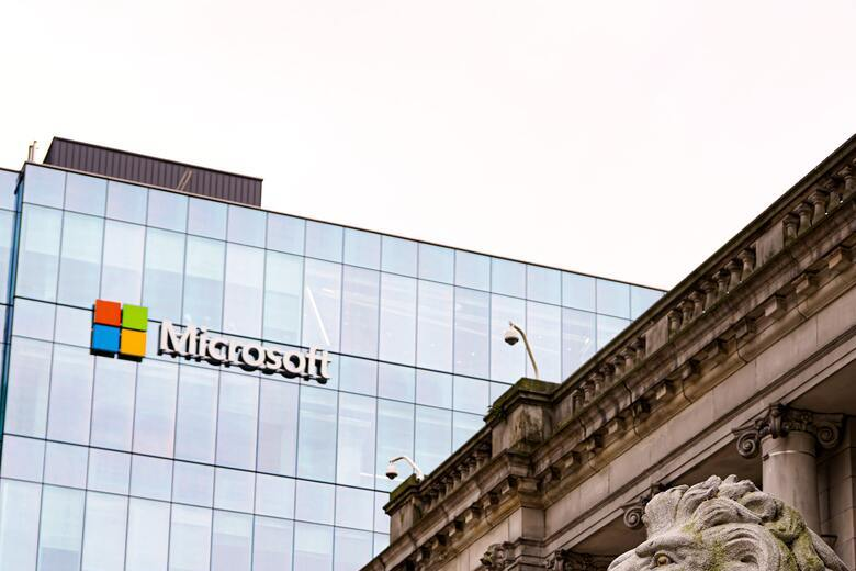 Microsoft building.