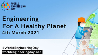 Mar. 4 is World Engineering Day! Catch the Live Stream Event at 1:00 PM CET