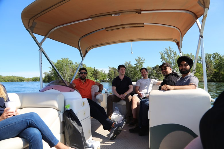 Mako Design team outing to build a stronger industrial design company culture.