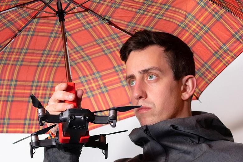 Unnecessary Invention Design: Hoverbrella