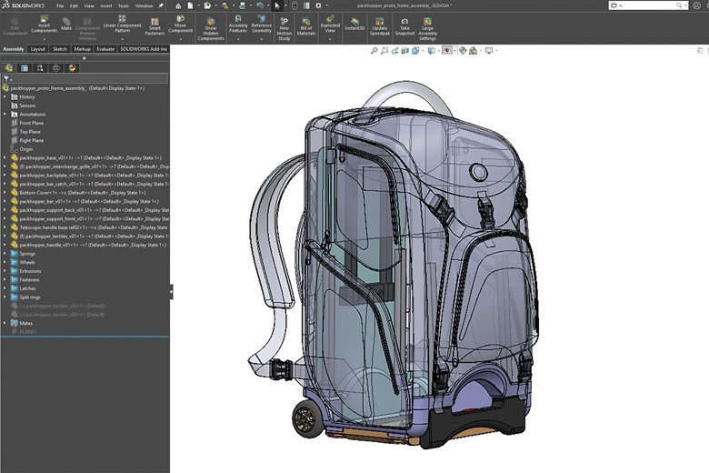 Top Austin product development firm using SOLIDWORKS to design a 3D CAD.