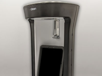Newly Designed & Engineered Custom UV Sterilization Product for Cell Phones