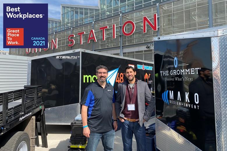 Mako Design wins 2021 GPTW Certification.