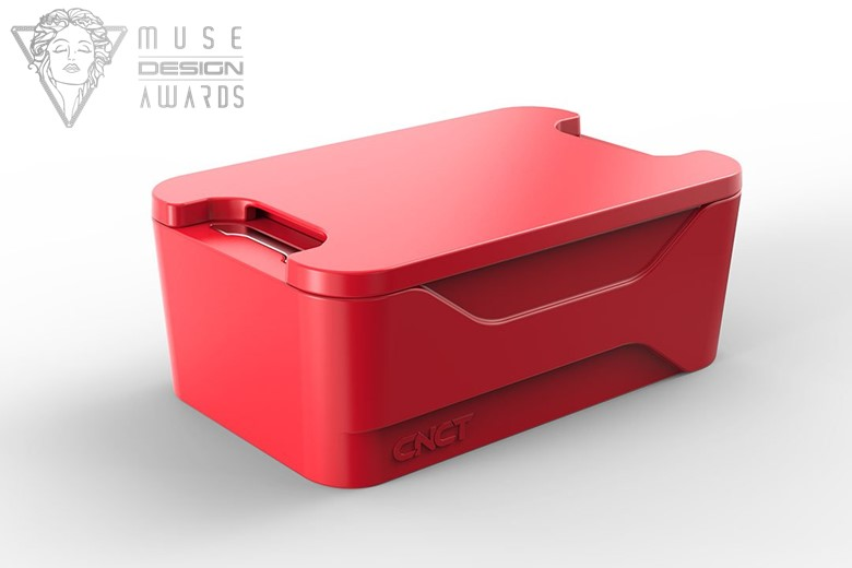 Austin industrial design firm's client's CNCT wins Muse Design Award.