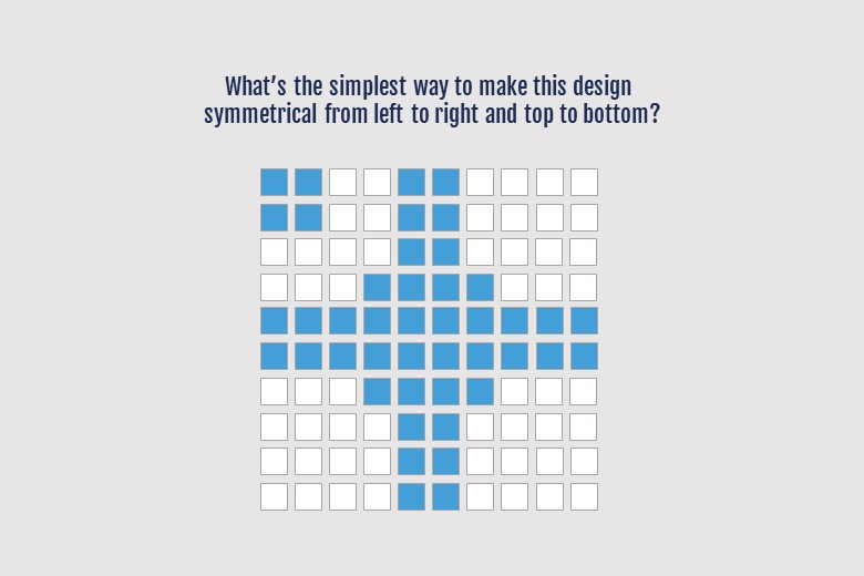 Simple invention design requires the same thought process as this brain teaser.