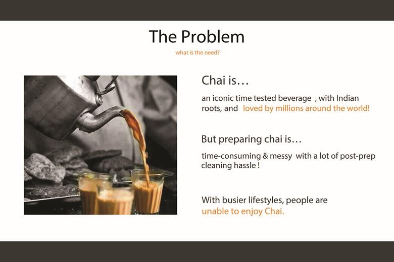 ChaiEasy Pitch Deck Slide 07: Solution