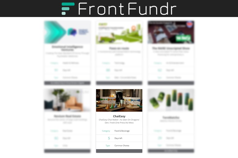 Those looking for investment help for investors trust FrontFundr.