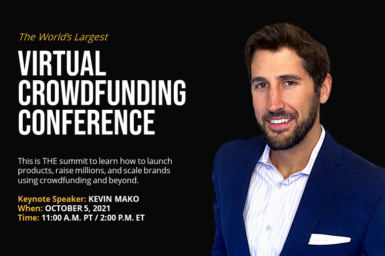 crowdfunding event for invention makers featuring Kevin Mako