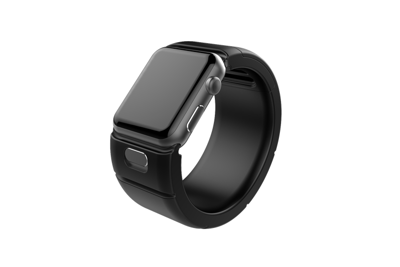 Kharaband watch strap invention design for Apple products.