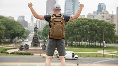 HoverGlide: The Backpack that Helps Reduce the Force on Your Knees