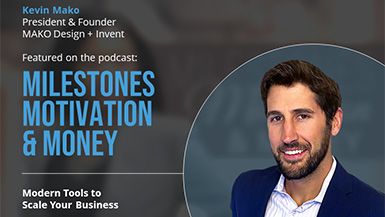Kevin Featured in the Entrepreneurial Podcast: Milestones Motivation & Money